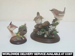 two wren ornaments by the willis collection and country