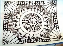 zentangle design learning to zentangle an artful mom