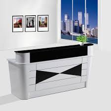 Office Front Desk Top Quality Mercial Small Office Front Desk Wooden Modern Spa