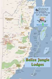 Crystal River Florida Map by Belize Jungle Lodges Map