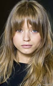 cutting hair so it curves under best hairstyle for a round face women cut bangs bangs and temple