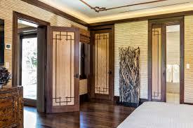 exterior design modern door with trustile doors and dark frame