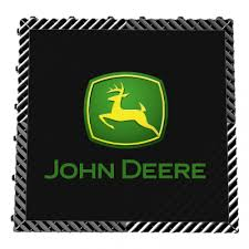 john deere logo flooring tile 1x1 rungreen com
