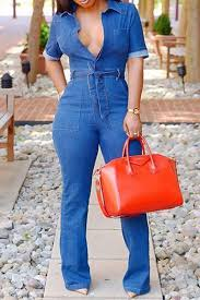denim jumpsuits roaso sleeves denim blue jumpsuits roaso