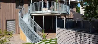 stahl treppe stahltreppen für innen und außen ilshofener treppenbau