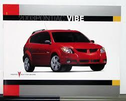 pontiac vibe canadian sales brochure
