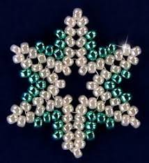 beaded snowflake diy ornament allfreechristmascrafts
