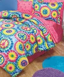 Tie Dye Bed Set Top 10 Peace Sign Comforters