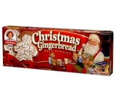 little debbie christmas gingerbread soft cookies 6 oz buy