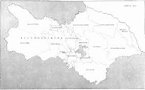 Yorkshire Map Map Of North Yorkshire And Its Wapentakes British History Online