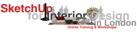 sketchup training for interior designers in london