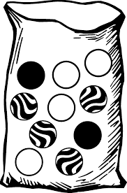 cad marbles image colored coloring page wecoloringpage