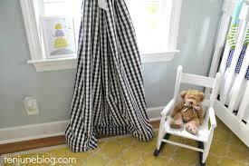 Boy Nursery Curtains by Baby Boy Nursery Final Reveal14 Curtain Green Gingham Curtains