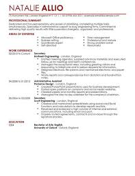 senior executive cover letter examples administrative in template