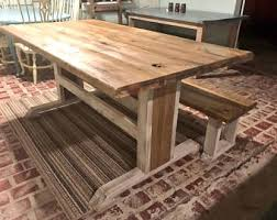 Rustic Table Ls Rustic Wooden Farmhouse Table Set With Provincial Brown Top