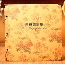 personalized record album diy handmade photo album 2017 new arrival children family memory
