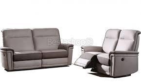 ensemble canapé 3 2 ensemble canapé 3 2 places en tissu coloris gris decor brun 3