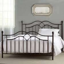 Iron Platform Bed Metal Beds You U0027ll Love Wayfair