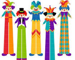clown stilts clown stilts etsy