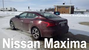 nissan maxima enterprise rental 2017 nissan maxima sv car review and test drive youtube