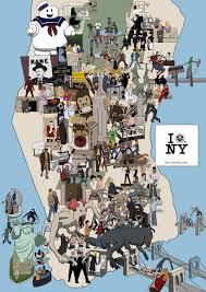 New York Map Manhattan by Manhattan Movie Map Challenge On The Set Of New York Com
