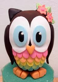 owl cake toppers fondant owl cake topper 3d owl only up to 5 colors