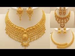 beautiful necklace gold images Latest gold necklace designs beautiful gold jewellery necklace jpg