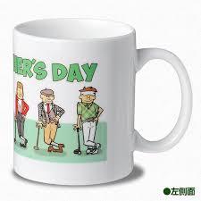 fathers day mug entame golf rakuten global market s day golf mug cup