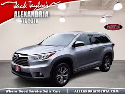 certified toyota highlander certified pre owned 2015 toyota highlander l 4d sport utility in