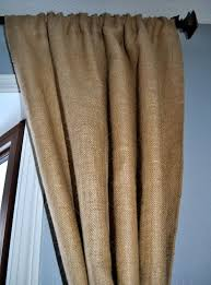Brown Burlap Curtains Curtains Out Of Burlap 100 Images Country Panel Curtains