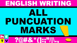 quote punctuation meaning all punctuation marks what is english punctuation youtube