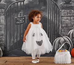 Toddler Ghost Halloween Costume Toddler Ghost Tutu Light Costume Pottery Barn Kids