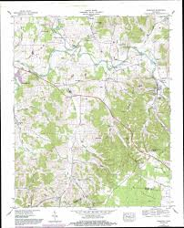 Eastern Tennessee Map by Normandy Topographic Map Tn Usgs Topo Quad 35086d3