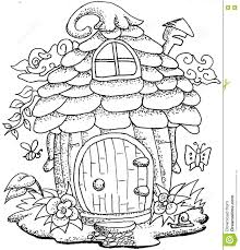 coloring book picture of a house house interior
