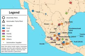 Hermosillo Mexico Map by The Promise And Threat Of Trump U0027s Tariff On Mexican Built Autos