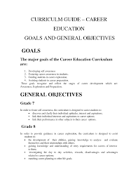 Sample Career Objective Statements Career Objective Examples Students