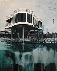 the art of paul davies combines architecture pools u0026 palms