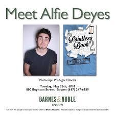 Barnes Noble Boston Alfie Deyes At Barnes U0026 Noble 05 26 15