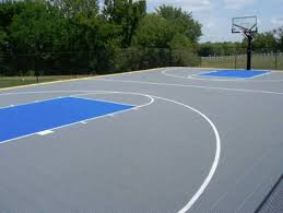 Sports Courts For Backyards Outdoor Basketball Court Tile For Backyard Courts