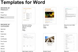 microsoft word resume template 2007 office templates free 2015