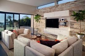 echte steinwand im wohnzimmer 2 steinwand im wohnzimmer wanddeko mit verblendsteinen