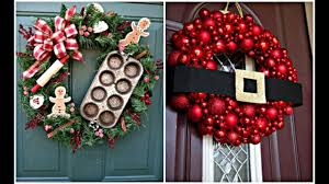 Christmas Decoration Ideas For Your Home Christmas U0026 Holiday Wreath Ideas For Your Home Youtube
