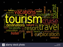 Tourism and travel concept word cloud stock photo 67649901 alamy