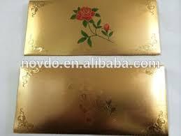 wedding gift envelope gold foil envelopes promotional gifts wedding card bag buy