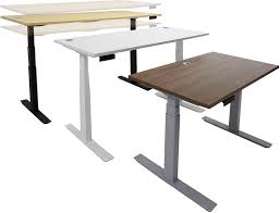 Pneumatic Height Adjustable Desk by Complete Electric Height Adjustable Tables In Stock Free Shipping