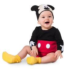 mickey mouse toddler costume mickey mouse costume bodysuit set for baby personalizable shopdisney