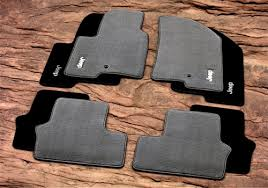2003 jeep liberty floor mats mopar oem jeep patriot premium carpet floor mats with jeep logo