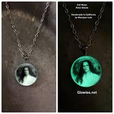 memorial pendants glowies glow jewelry custom photo glow memorial pendants