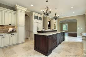 Two Tone Kitchen Cabinets Pictures Of Kitchens Traditional Two Tone Kitchen Cabinets