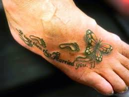 butterfly tattoo with baby footprint collection of 25 footprints butterfly tattoo on back